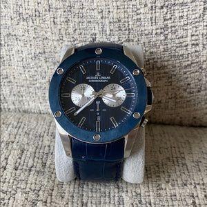Jacques Lemans chronograph watch